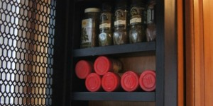 feature side of cabinet spice rack, Confessions of a Serial DIYer on Remodelaholic