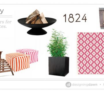Patio Party – Fresh spring colors for your outdoor space