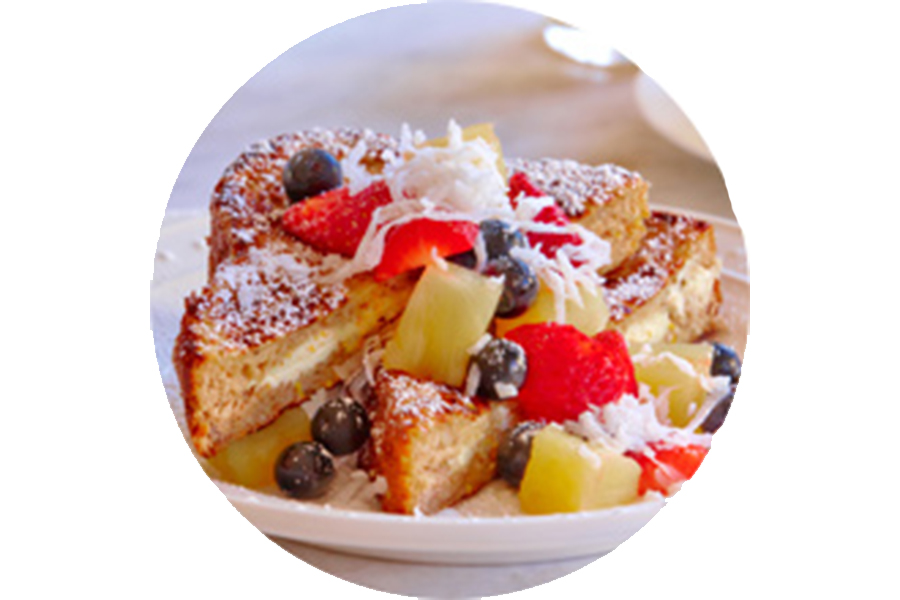 Cream Cheese-Stuffed French Toast