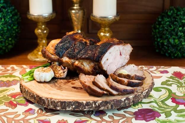 Rotisserie Pork Roast