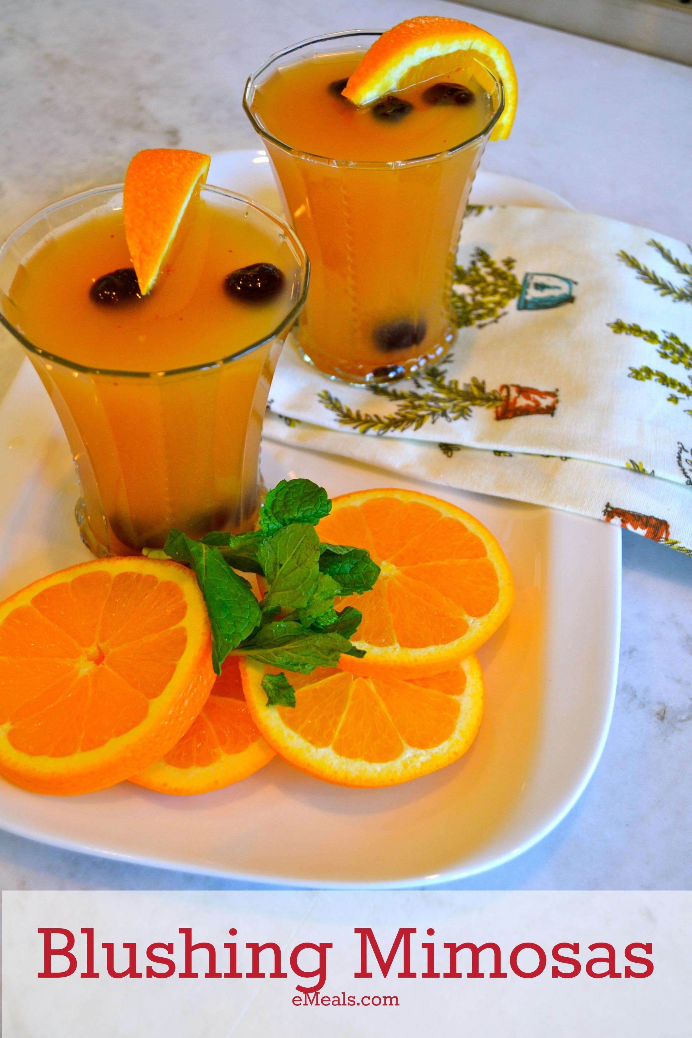 Virgin Blushing Mimosas