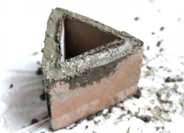 geometric concrete planter tutorial 2, A Piece of Rainbow on Remodelaholic