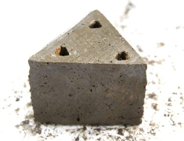 geometric concrete planter tutorial 4, A Piece of Rainbow on Remodelaholic
