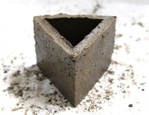 geometric concrete planter tutorial 5, A Piece of Rainbow on Remodelaholic