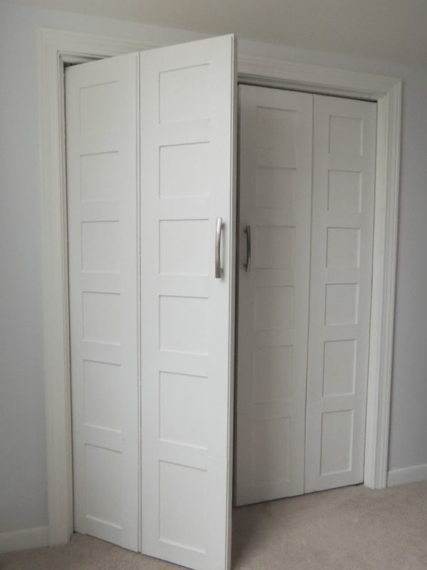 how to make bifold doors into french doors 2, Wife in Progress on Remodelaholic