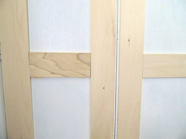 how to update flat closet doors to paneled french doors 2, Wife in Progress on Remodelaholic
