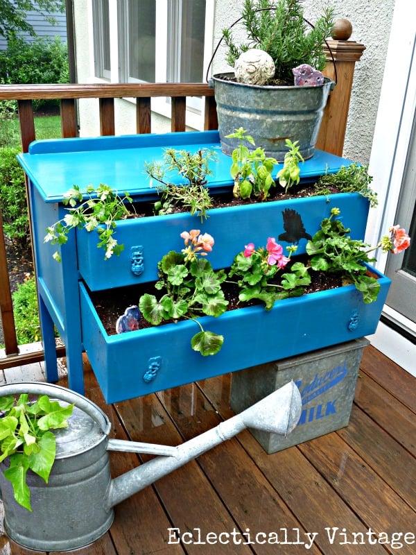 creative container garden ideas