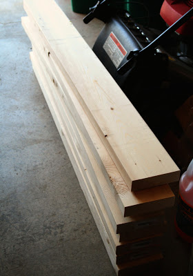 lumber for outdoor patio table