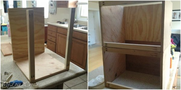 making hampers drawers for master closet, My Love 2 Create on Remodelaholic