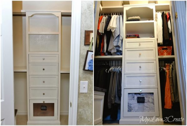 master closet his and hers, My Love 2 Create on Remodelaholic
