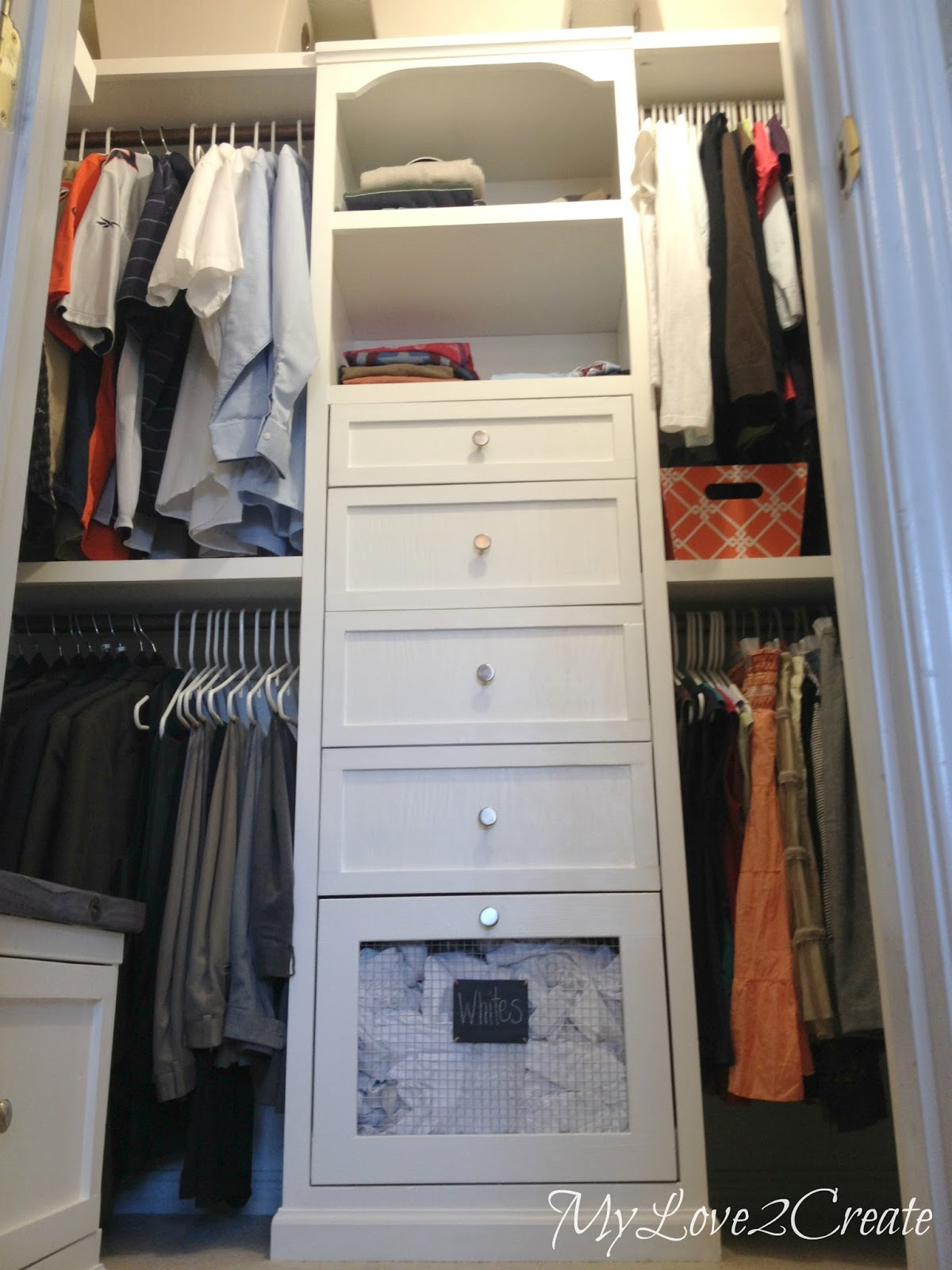 Remodelaholic | Amazing DIY Master Closet Renovation