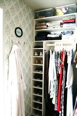 master closet renovation on Remodelaholic