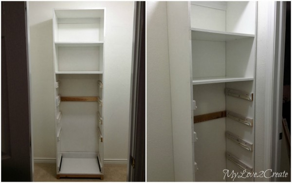 master closet towers with slides, My Love 2 Create on Remodelaholic