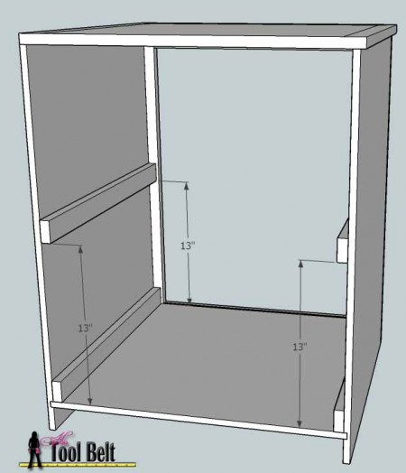 media center building plans - cabinets assembly 3, Her Tool Belt on Remodelaholic