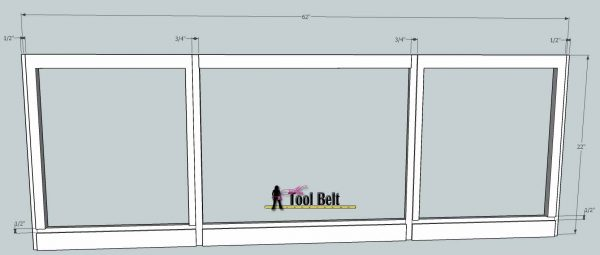 media center building plans - tv console 2, Her Tool Belt on Remodelaholic