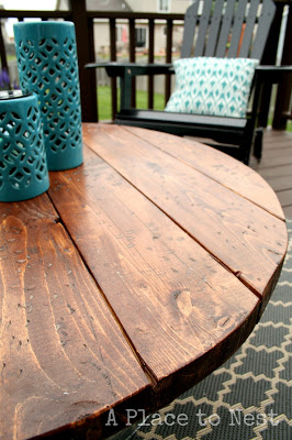 outdoor coffee table top