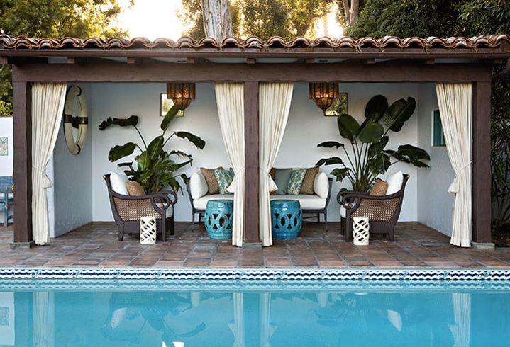 Remodelaholic   Cabana Style ~ Bringing the Resort into ... on Cabana Designs Ideas id=51203
