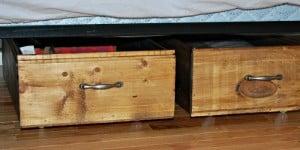 rolling underbed storage crates