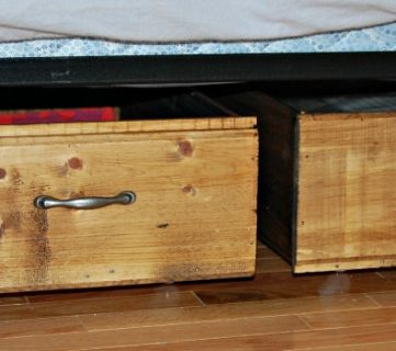 Build Your Own Rolling Under-Bed Storage Crates