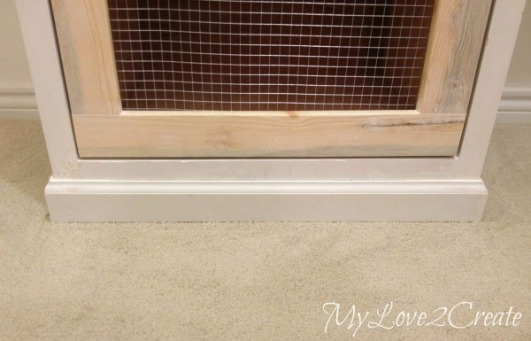 trim and hamper front in master closet makeover, My Love 2 Create on Remodelaholic