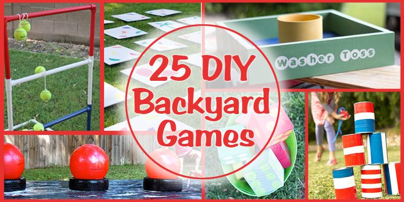 Remodelaholic 25 Diy Backyard Games