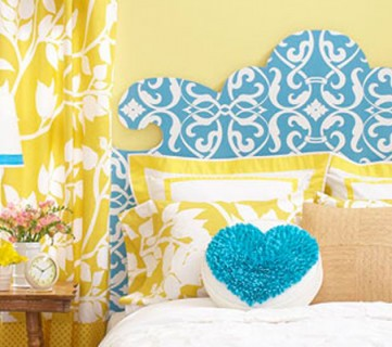 Curvaceous Headboard Pattern + DIY French Cleat Instructions