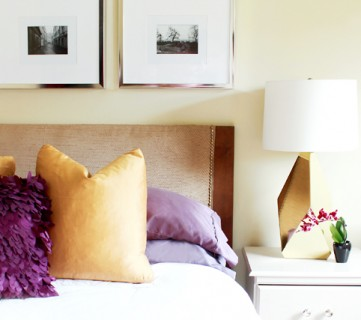 How To Turn A Door Into A Stylish Headboard
