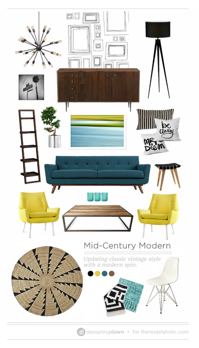 Remodelaholic making mid century modern for Cost to build mid century modern home