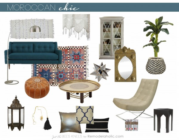 Remodelaholic Moroccan Chic Moroccan Style With A