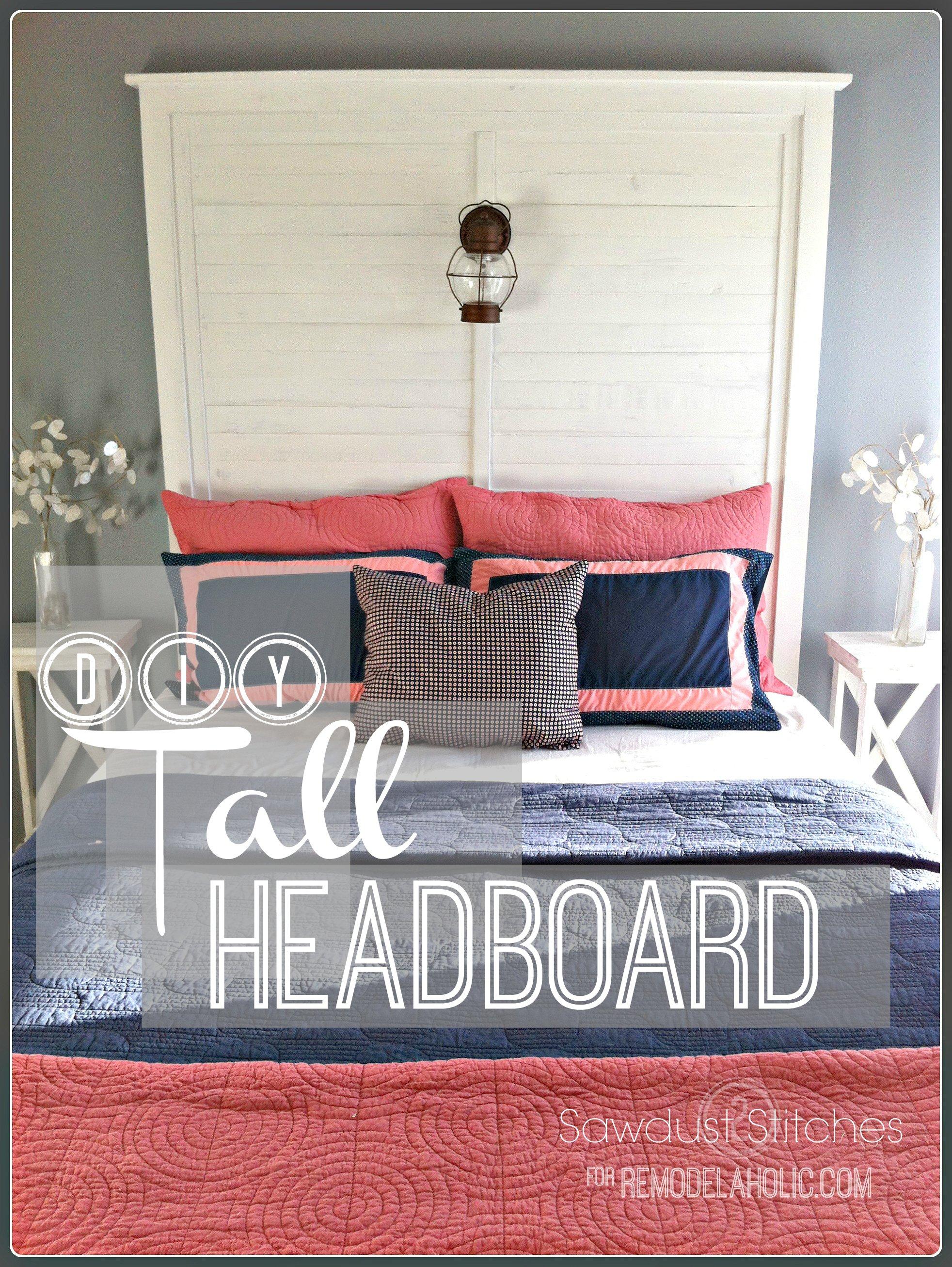 how to make a headboard taller