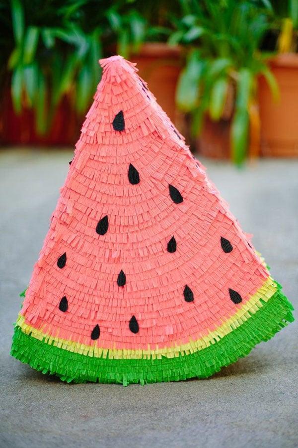 Watermelon-Pinata DIY