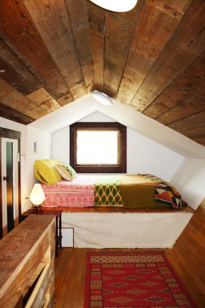 attic bedroom nook apartment therapy