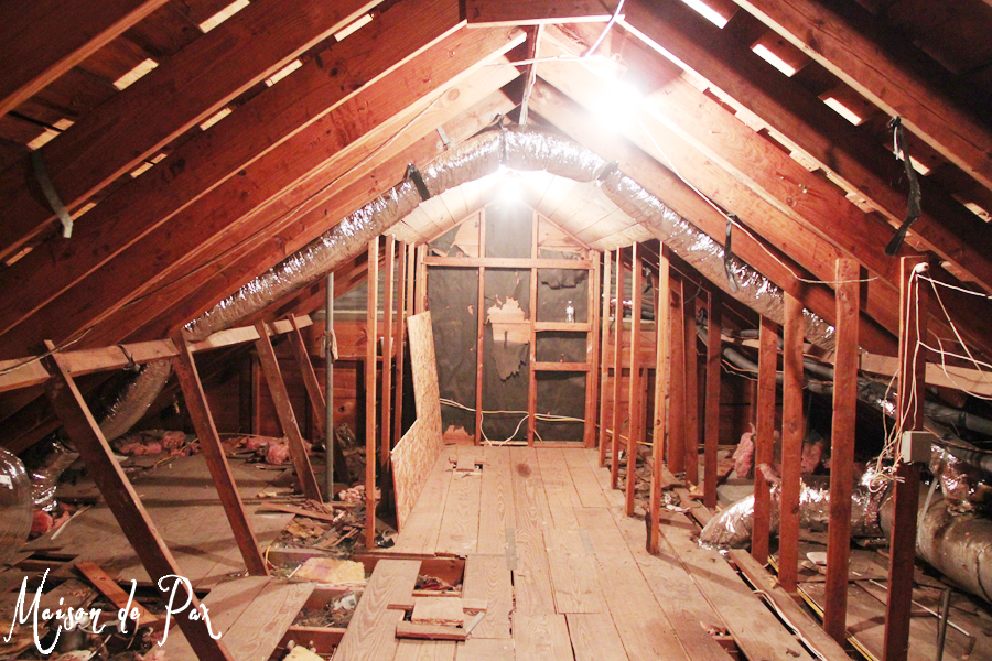 finished attic space ideas - Remodelaholic