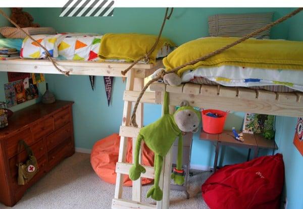 built-in-loft-beds-boys-bedroom-contented-sparrow