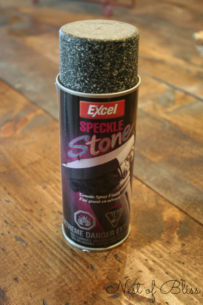 excel speckle granite spray finish spray paint, Nest of Bliss on ...