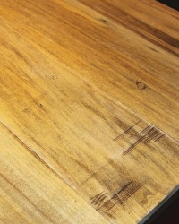 faux reclaimed wood countertop