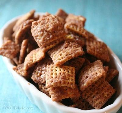 Caramel Nutella Chex Mix