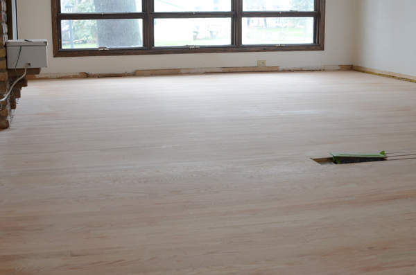 how to refinish wood floors ramblings from the burbs on