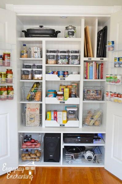 pantry organizing