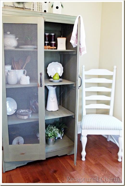 armoire to pantry for kitchen storage