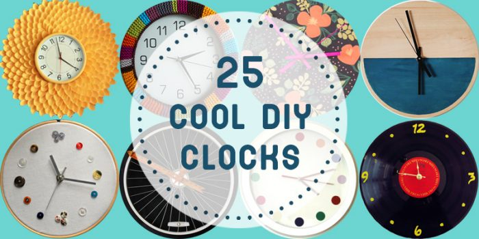 25 Cool DIY Clocks