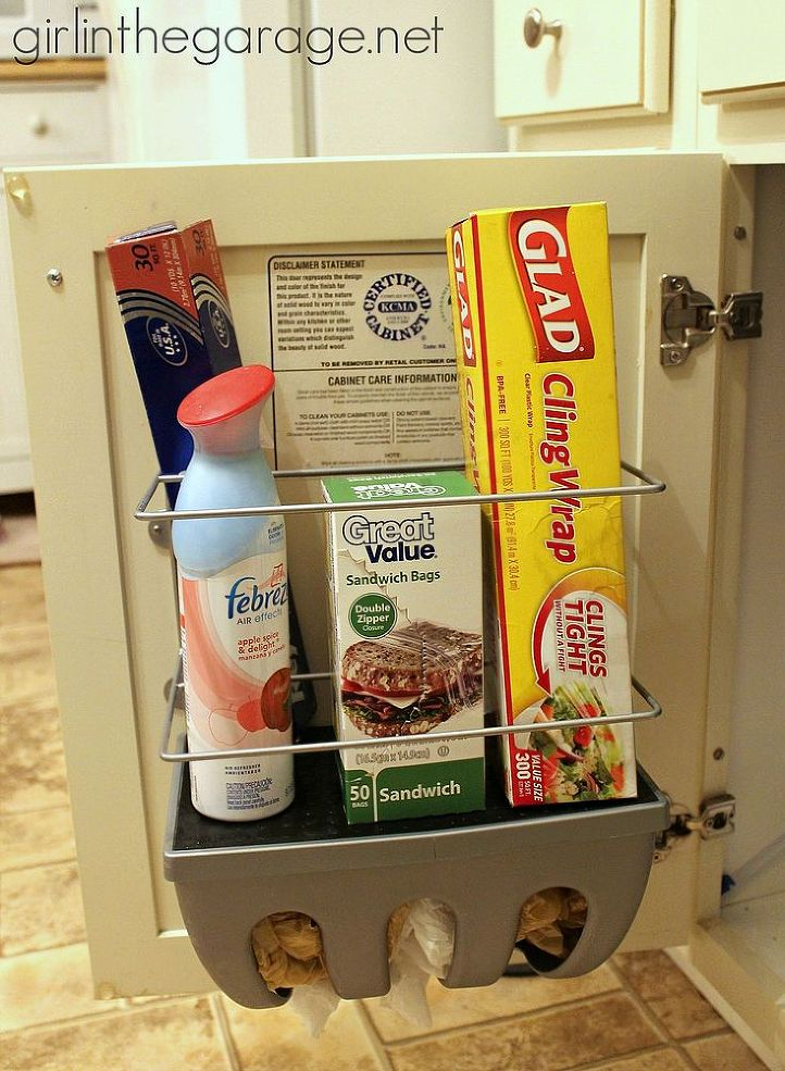 find hidden storage in the fridge - Kitchen Storage Idea
