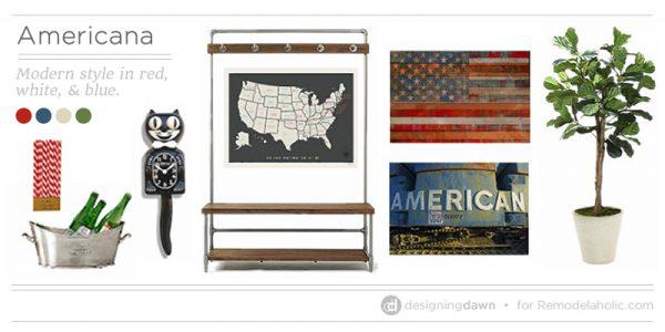 Modern Americana Decor