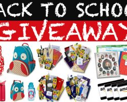 Back to School Giveaway- Horizontal