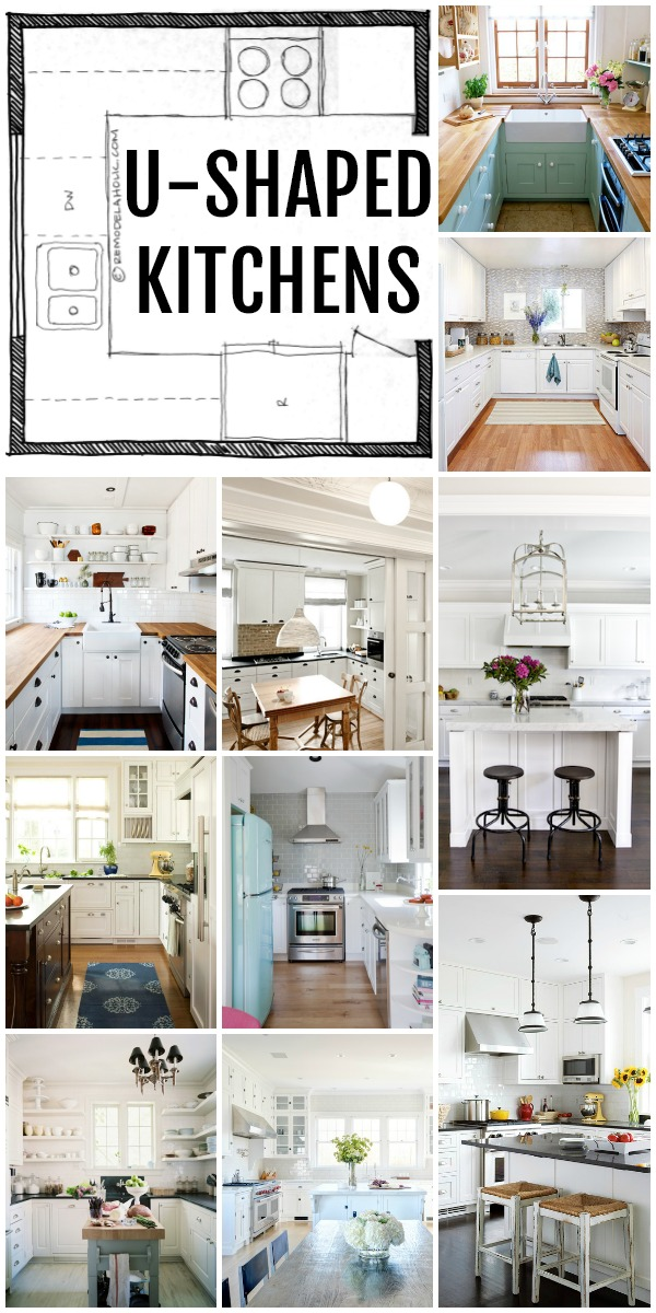 Remodelaholic | Popular Kitchen Layouts and How to Use Them