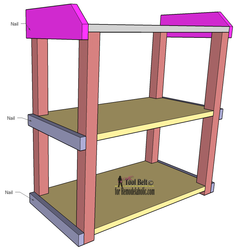 DIY SMALL OPEN SHELF BUILDING PLAN - Lovely Tips