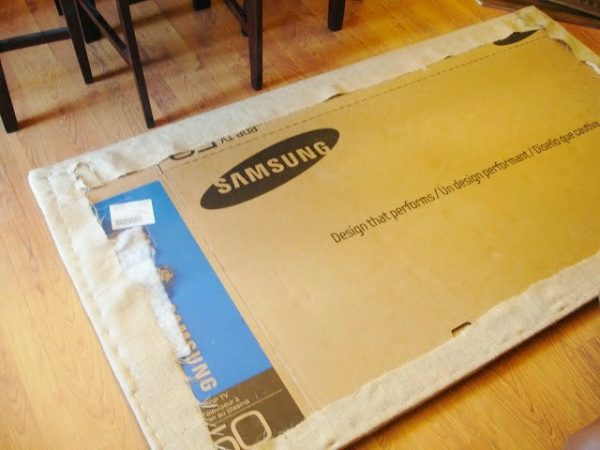 build a 2-hour no tools easy headboard supplies, Do Not Disturb This Groove on Remodelaholic