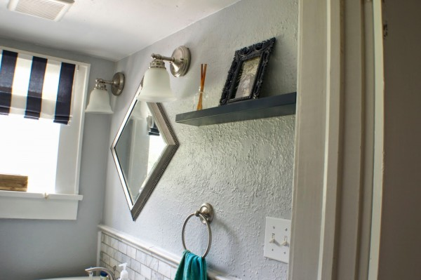 complete bathroom remodel 09, Seesaws and Sawhorses on Remodelaholic