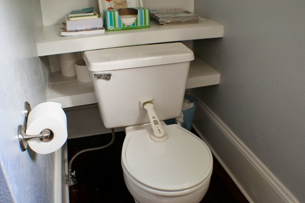 complete bathroom remodel 10, Seesaws and Sawhorses on Remodelaholic