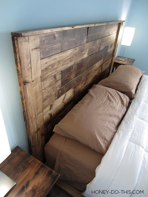 remodelaholic 50 diy handmade headboards link party